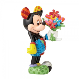 Mickey Mouse with Flowers H 21cm Disney by Britto 4058180