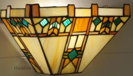 5828  Wandlamp Tiffany B30cm schelpmodel Blerick