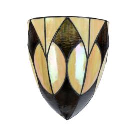 7880 Wandlamp Tiffany B20cm H24cm Parabola