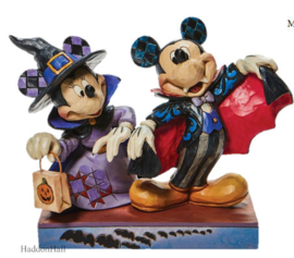 Mickey as Vampire & Minnie as Witch H13cm - Jim Shore 6008989