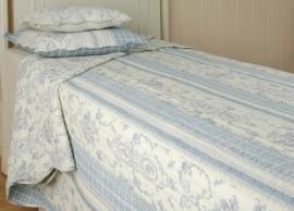 Q009 Clayre & Eef Bedsprei 260 x 260 cm Quilt Patchwork