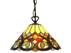 COT08 Hanglamp Tiffany Ø25cm Sydän