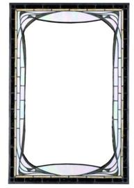 7863 Spiegel Tiffany 70x50cm Jugendstil