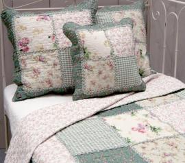 Q150 Clayre & Eef Bedsprei 230 x 260 cm Quilt Patchwork