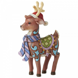 Christmas Reindeer Mini Figurine H9cm Jim Shore 6006664