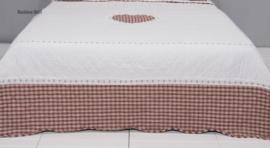 Q180 Clayre & Eef Bedsprei 260 x 260 cm Quilt Patchwork beddesprei