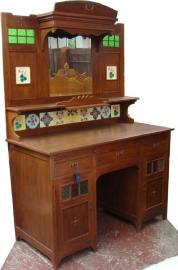 Buffetkast H220cm B150cm Massief Teakhout ca. 1910 origineel oud