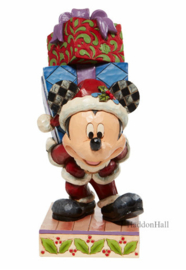 Mickey Carrying Gifts H22,5cm Jim Shore 6008978