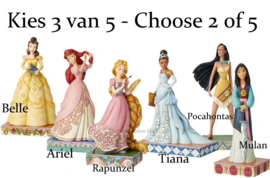 Set van 3 Passion Princesses Jim Shore - Choose 3 of 6