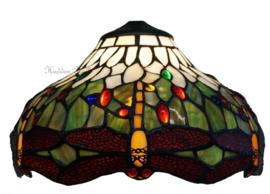 5849 Kap Tiffany Ø30cm Multicolor Dragonfly