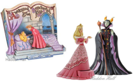 Aurora - Storybook, Treasure Keeper & Maleficent - Set van 3 Jim Shore beelden