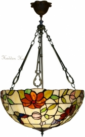 "TV158L-FCL Hanglamp Tiffany Ø50cm ""Butterfly"""