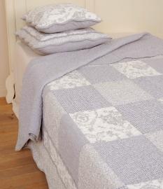 Q080 Clayre & Eef Bedsprei 260 x 260 cm Quilt Patchwork