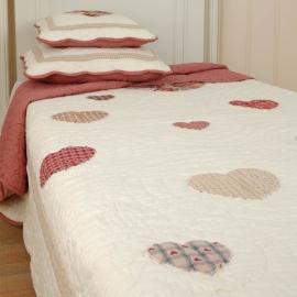 Q063 Clayre & Eef Bedsprei 140 x 220 cm Quilt Patchwork beddesprei