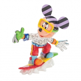 Mickey H18cm  Snowboarding Mickey Mouse by Britto  4046361