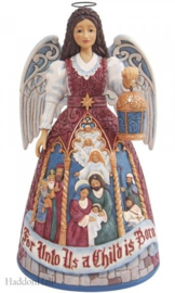 Victorian Christmas Nativity Angel H24cm Jim Shore 6009495 november 2021