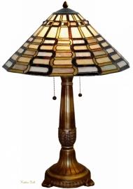 9340 5529 Tafellamp Tiffany H73cm Ø50cm