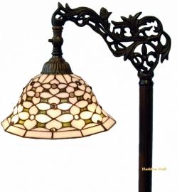 505 9458 Vloerlamp H164cm met Tiffany kapje Ø26cm  Jewel