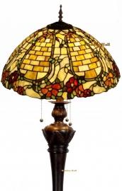 5429 9459 Vloerlamp Tiffany Ø50cm Wallflower Bolling in de voet