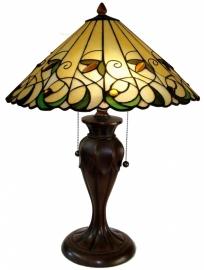 "T095 Tafellamp Tiffany H58cm Ø41cm ""Jamelia"" 5206"