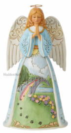 Rainbow Pet Bridge Bereavement Angel H25cm Jim Shore 6008762