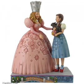 Wizard of OZ - Glinda and Dorothy H19cm Jim Shore 6005080