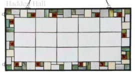 5914 Voorzetraam Tiffany 80x40cm Poiret