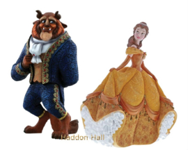 Belle & The Beast Set van 2 beelden Disney Showcase
