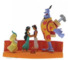 "Aladdin ""Im Out of Here"" H15cm B20cm Enchanting Disney A29367"