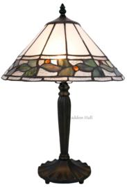 5862 Tafellamp Tiffany H47cm Ø30cm Herba
