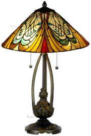 T13L 5320 Tafellamp Tiffany H53cm Ø40cm