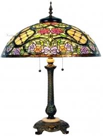 5437 5298 Tafellamp Tiffany H75cm Ø55cm Grandiflora