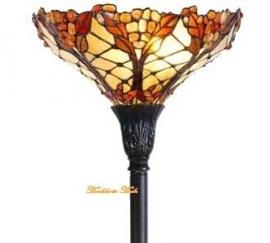 5288 Vloerlamp H176 met Tiffany kap Ø37cm