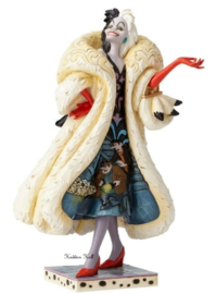 "101 Dalmatians Cruella ""Devilish Dognapper"" H20cm Jim Shore 4055440 retired"