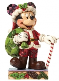 """MICKEY """"Holiday Cheer For All"""" H 11,5cm JIM SHORE 4046014"""