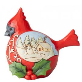 "Cardinal ""Winter's Joy"" H11,5cm Jim Shore 6004293"