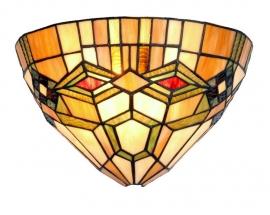 3083 Wandlamp Tiffany B30cm schelpmodel Imperial