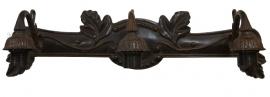 1125 Wandarmatuur B70cm voor wandlamp met 3 kappen