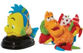 Flounder & Sebastian Set van 2 Figurines H8cm Disney by Britto leverbaar oktober