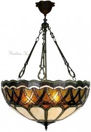 5449 FCL Hanglamp Tiffany Ø55cm Safari