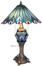 5829 Tafellamp Tiffany H60cm Ø40cm Merak
