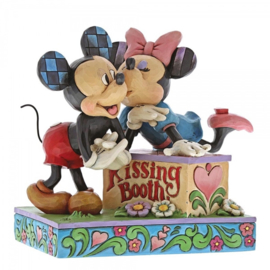 "MICKEY & MINNIE ""Kissing Booth"" H15cm Jim Shore 6000970"