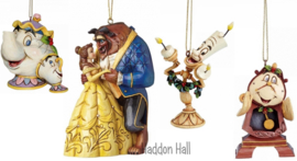 BELLE Set van 4 Hanging Ornament  Jim Shore  a21431  a21430  a21429  a28960