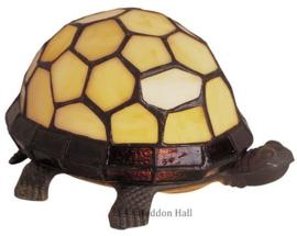 "Tiffany lamp ""Schildpad"" B22cm Ivoor"