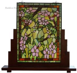 5832 Voorzetraam Tiffany op voet H70cm B74cm Horta