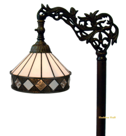 5197 9458 Vloerlamp H164cm met Tiffany kap Ø19cm Fargo