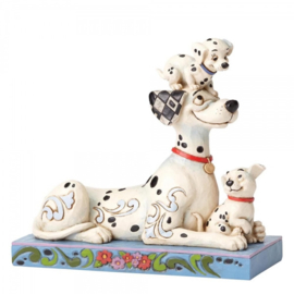 101 Dalmatians Pongo, Penny & Rolly H 16cm Puppy Love Jim Shore 4054278