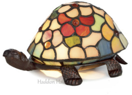 Tiffany lamp Schildpad with Flowers