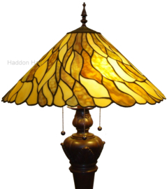 7878 Vloerlamp Bolling met Tiffany kap Ø50cm Jade