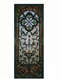 5306 Voorzetraam Tiffany 118 x 46cm
